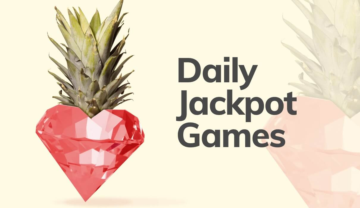 Take a look at our Daily Jackpot Games which pay out £3,600 every single week. Best of all, there are no wagering requirements!