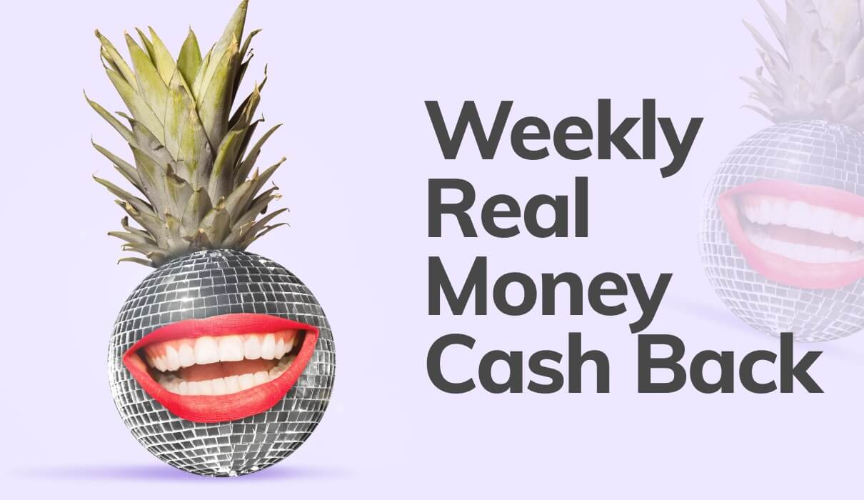 At Bingo Barmy, Fridays are simply the BEST especially when you receive our 10% Real Money Cash Back up to £150 – NO WAGERING!