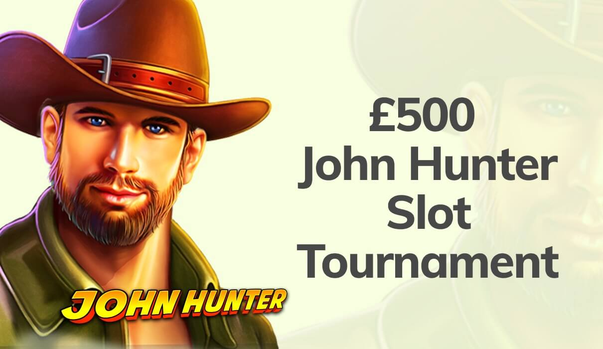 Are you ready to go on an adventure with John Hunter this week? You might even win a share of £500 – no wagering.